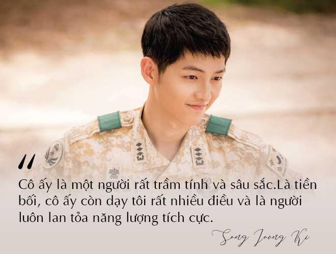 Những câu nói đậm chất ngôn tình của Song Joong Ki và  Song Hye Kyo trước khi ly hôn: Mọi thứ chỉ đẹp khi ở trên phim   - Ảnh 11