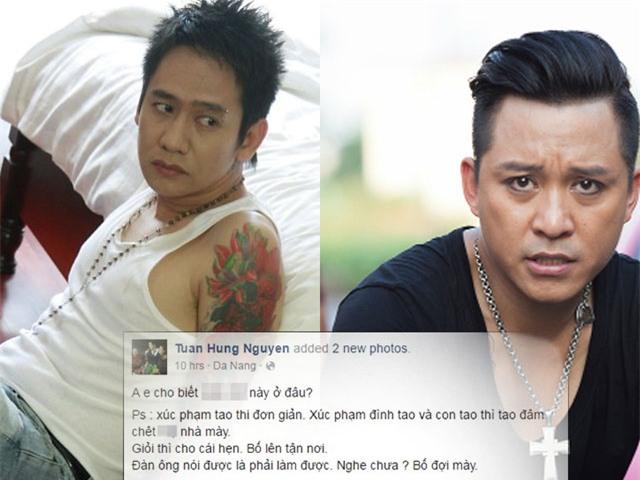 Hai người đàn ông đã tạo ra màn đối đầu kịch liệt trên mạng xã hội