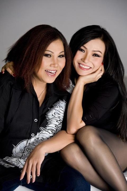 PhươngThanh và Siu Black từng là chị em thân thiết