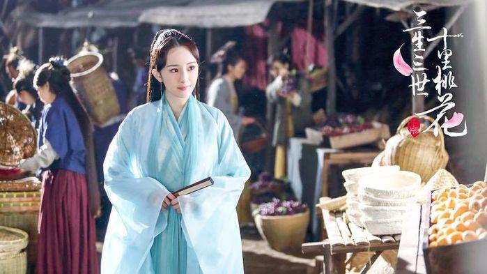 """cô nàng đã lấy lại phong độ với vai Bạch Thiển trong """"Tam Sinh Tam Thế Thập Lý Đào Hoa"""""""