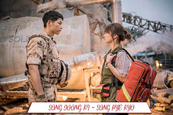 Song Joong Ki được gọi là nam thần, còn Song Hye Kyo là ngọc nữ