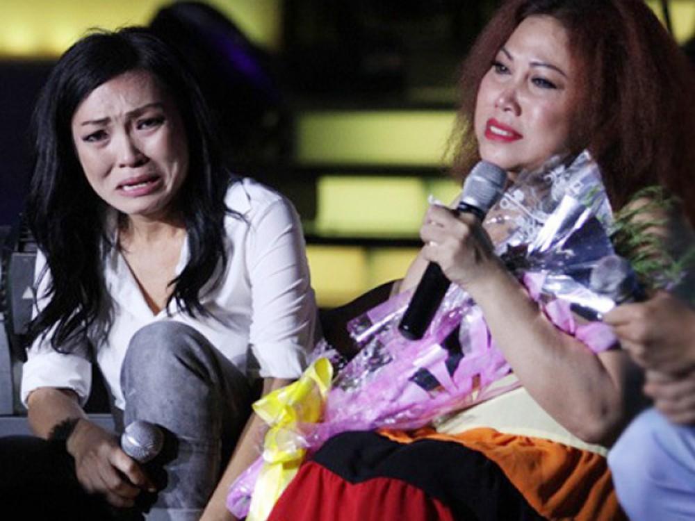 Phương Thanh từng bật khóc trên sân khấu vì hoàn cảnh của bạn mình