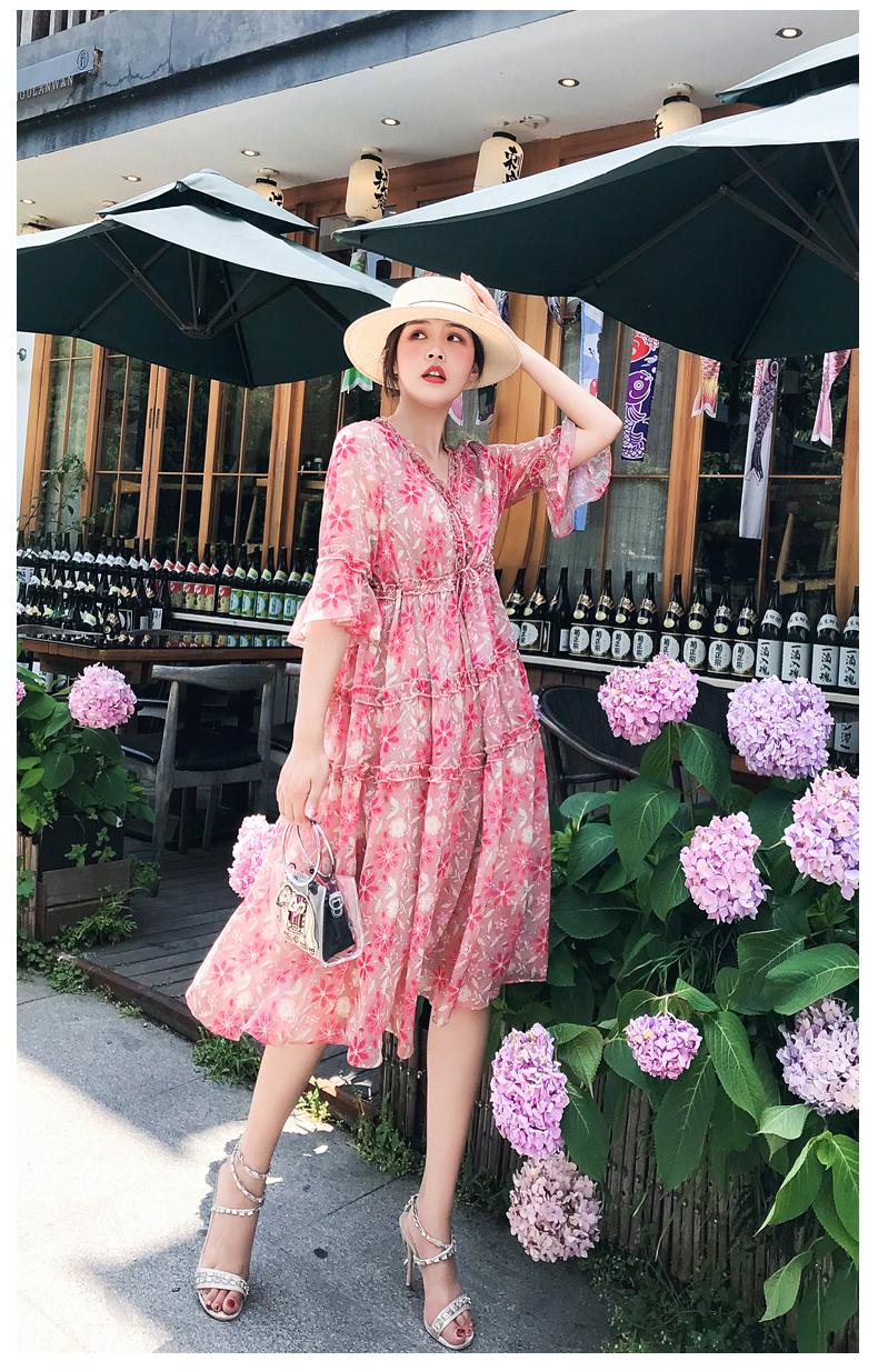 Đầm hoa cho ngày nắng:  Siêu đẹp, siêu mát lại còn phù hợp với tất cả vóc dáng của các nàng - Ảnh 1