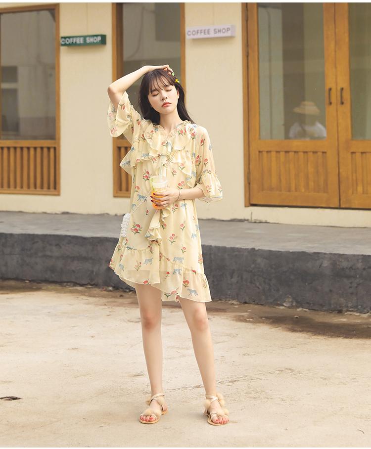 Đầm hoa cho ngày nắng:  Siêu đẹp, siêu mát lại còn phù hợp với tất cả vóc dáng của các nàng - Ảnh 12
