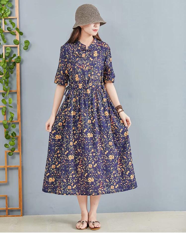 Đầm hoa cho ngày nắng:  Siêu đẹp, siêu mát lại còn phù hợp với tất cả vóc dáng của các nàng - Ảnh 4