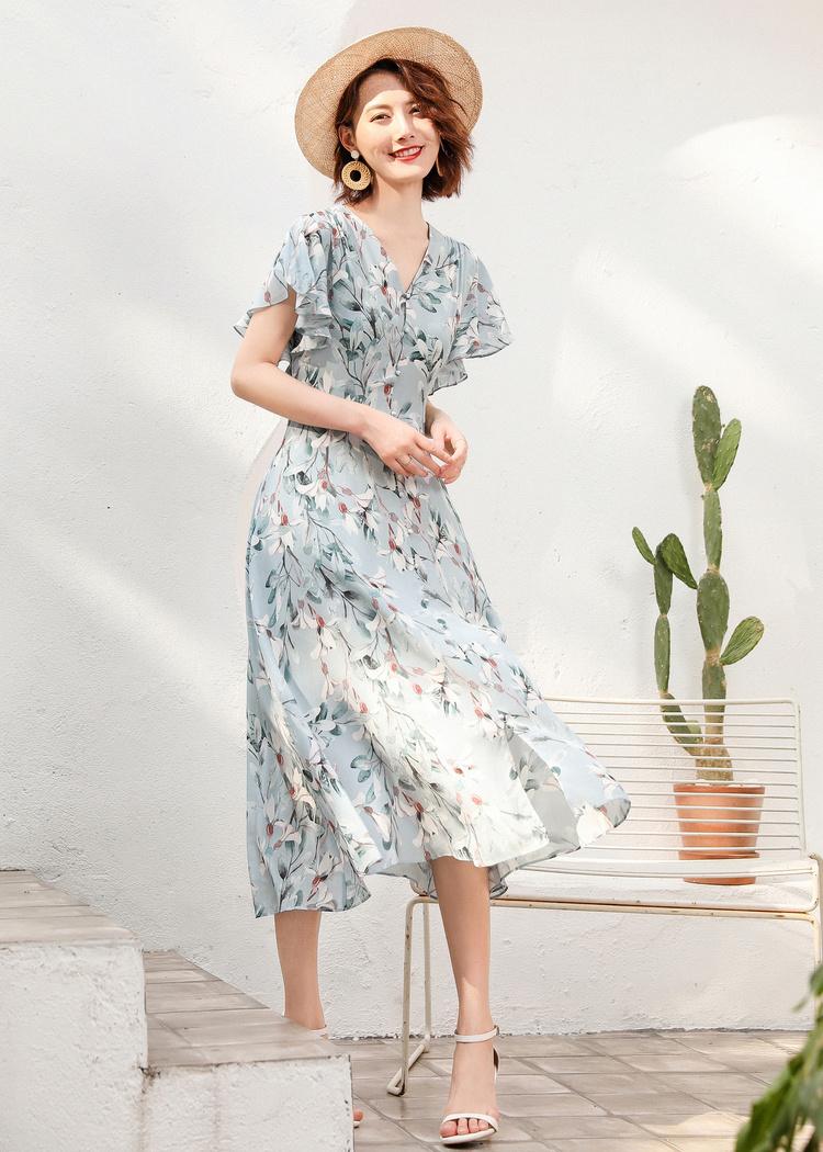 Đầm hoa cho ngày nắng:  Siêu đẹp, siêu mát lại còn phù hợp với tất cả vóc dáng của các nàng - Ảnh 8