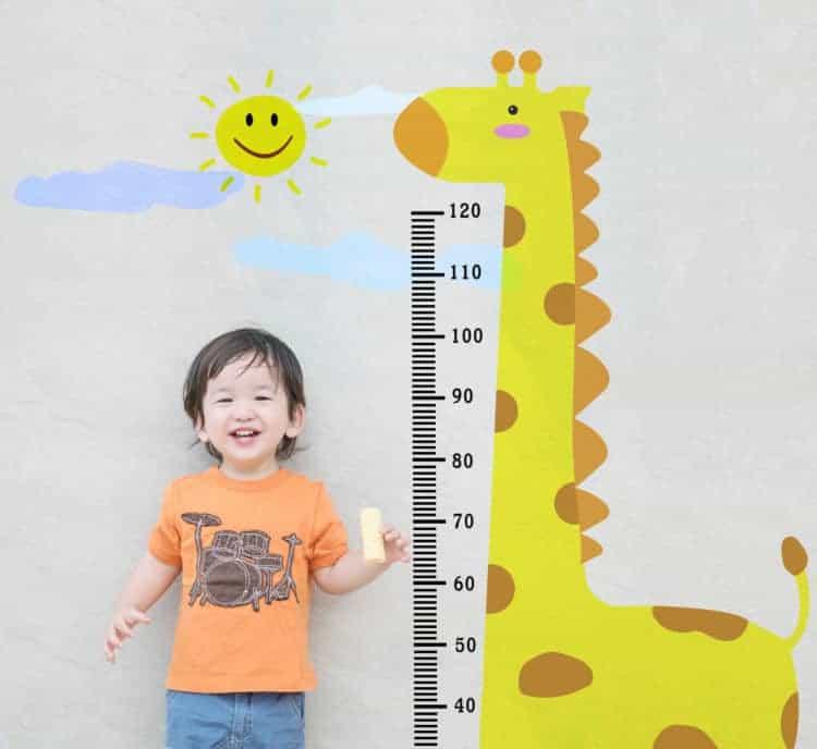 Mách cha mẹ cách dự đoán chiều cao của con trong tương lai - Ảnh 1