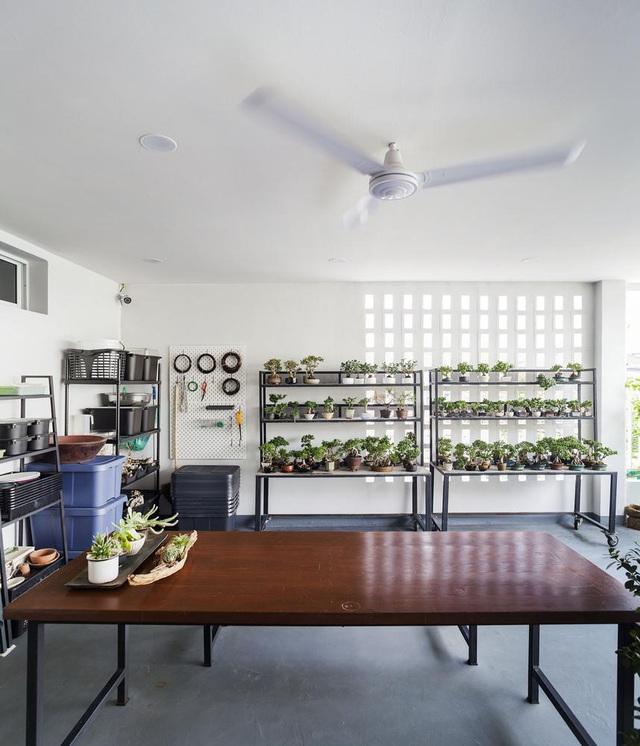 """Choáng ngợp ngôi nhà 300m2 với khu vườn bonsai toàn cây """"khủng"""" - Ảnh 7"""