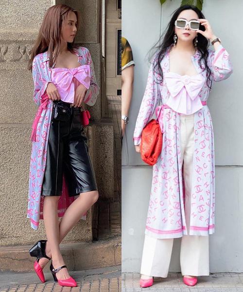 Những bộ đồ trùng hợp của cặp bạn thân Ngọc Trinh - Phượng Chanel - Ảnh 3
