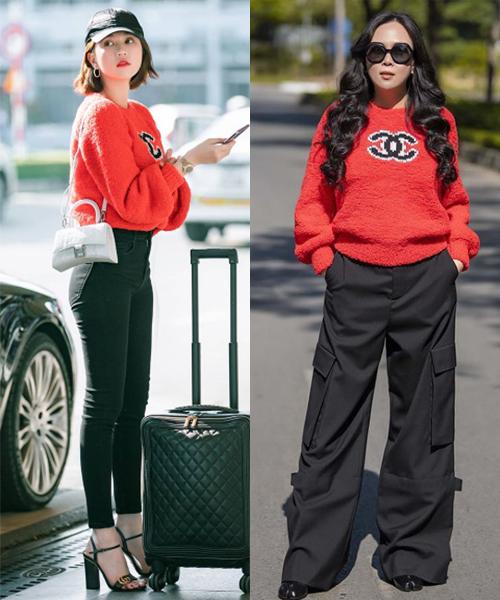Những bộ đồ trùng hợp của cặp bạn thân Ngọc Trinh - Phượng Chanel - Ảnh 4