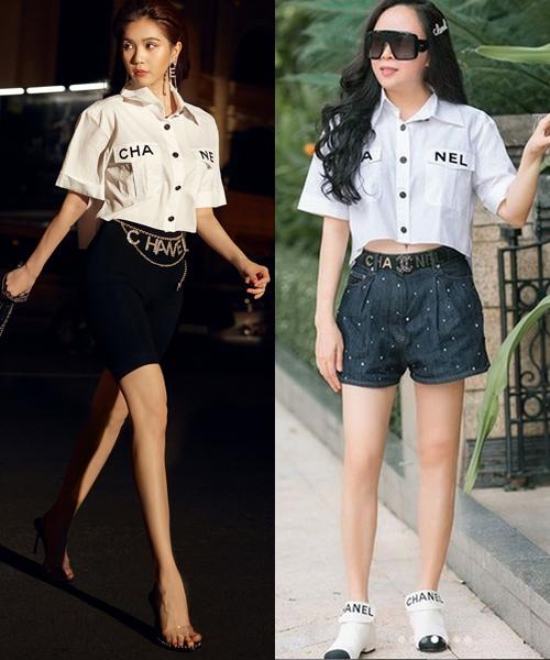 Những bộ đồ trùng hợp của cặp bạn thân Ngọc Trinh - Phượng Chanel - Ảnh 5