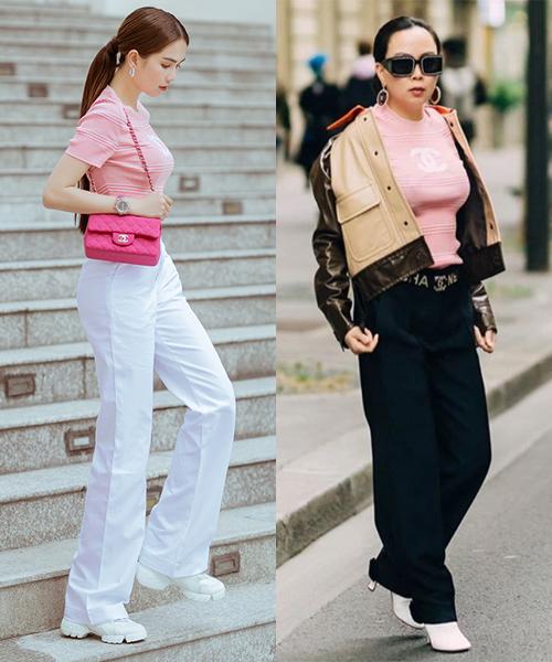 Những bộ đồ trùng hợp của cặp bạn thân Ngọc Trinh - Phượng Chanel - Ảnh 6
