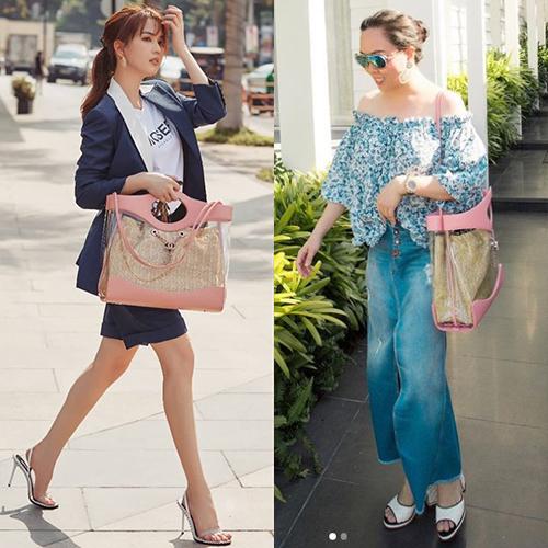 Những bộ đồ trùng hợp của cặp bạn thân Ngọc Trinh - Phượng Chanel - Ảnh 9