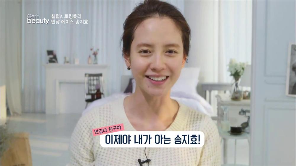Để mặt mộc vẫn nổi bần bật, 'mợ ngố' Song Ji Hyo khẳng định đẳng cấp đẹp tự nhiên - Ảnh 7