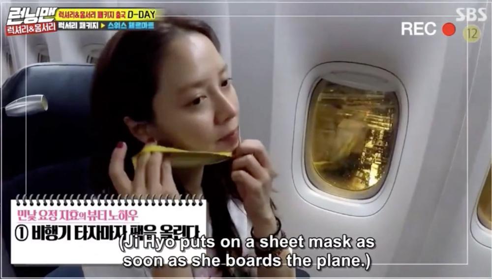 Để mặt mộc vẫn nổi bần bật, 'mợ ngố' Song Ji Hyo khẳng định đẳng cấp đẹp tự nhiên - Ảnh 9