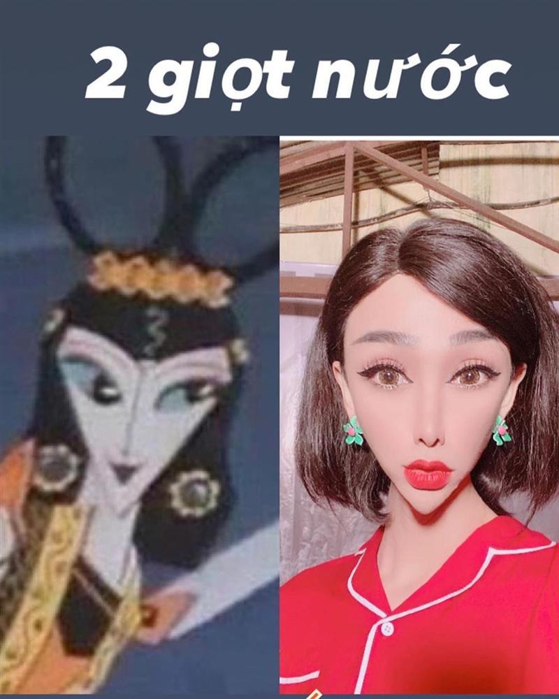 Hãi hùng với gương mặt như người ngoài hành tinh của Hải Triều - Ảnh 4