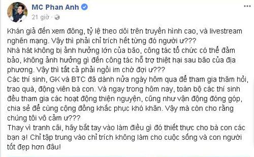 Sau phát ngôn 'cảm ơn COVID-19', MC Phan Anh nhanh chóng xóa hết bình luận 'ném đá' - Ảnh 5