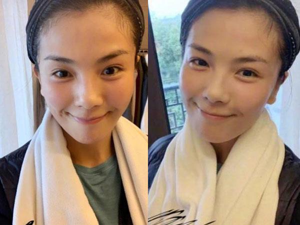 Lưu Đào gửi lời cầu may đến fan giữa dịch bệnh corona, nhưng mặt mộc của nữ diễn viên lại là tâm điểm chú ý  - Ảnh 2