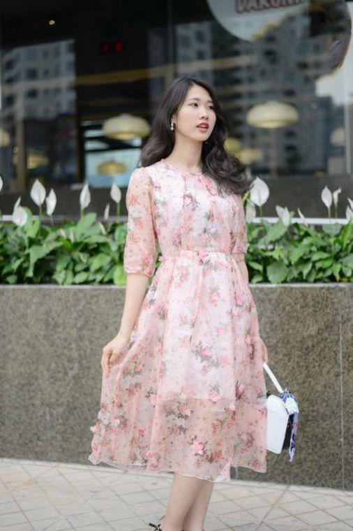 Những mẫu váy voan cực hot, nàng phải sắm ngay và luôn để xuống phố 'hút hồn' bao anh mùa xuân này - Ảnh 11