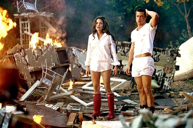 Angelina Jolie và Brad Pitt bén duyên từ điện ảnh