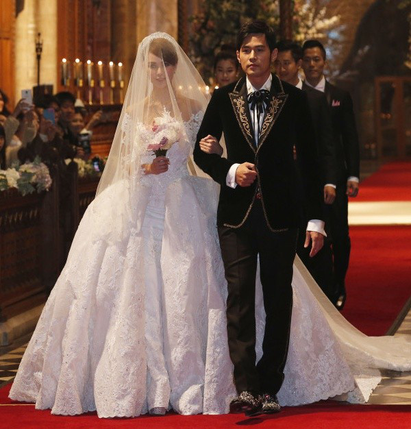 Đám cưới của họ là kết tinh của tình yêu