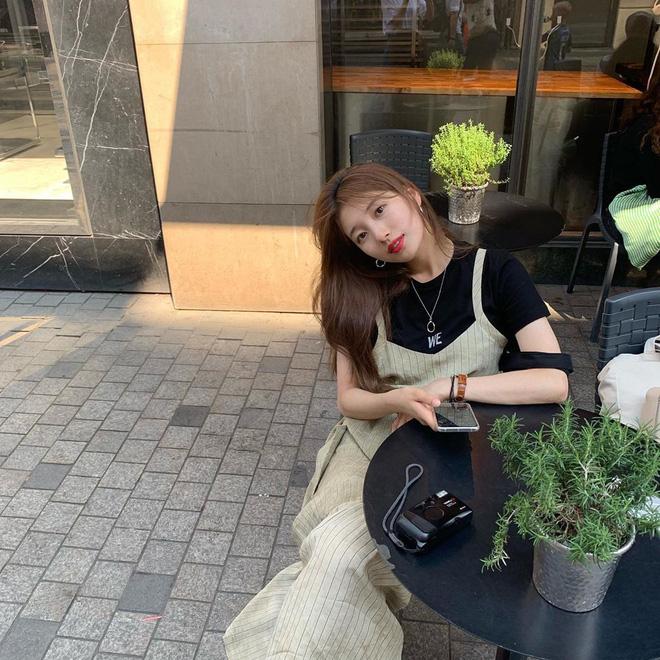 Suzy đang có kì nghỉ thoải mái tại Đan Mạch