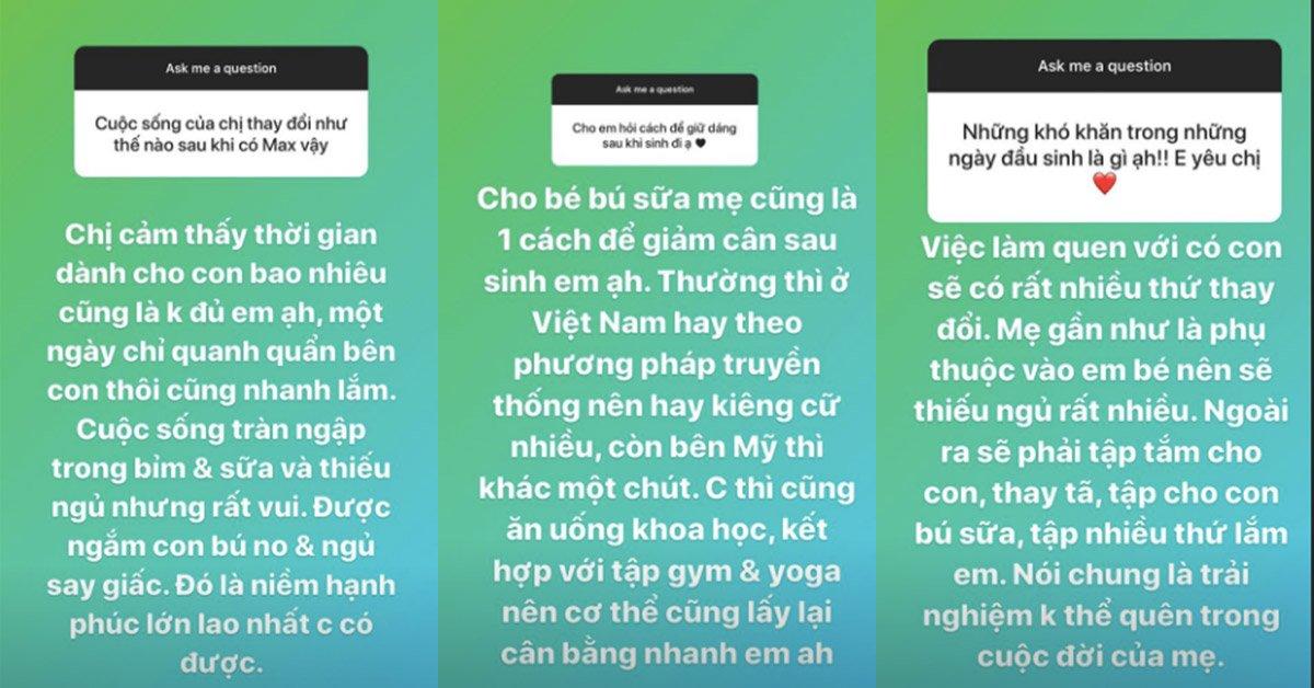 Phạm Hương lần đầu trả lời 15 câu hỏi, kể hết chuyện sinh con ở cữ ở Mỹ - Ảnh 7