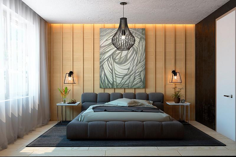Nội thất căn hộ truyền cảm hứng với trần bê tông và sàn gỗ - Ảnh 4