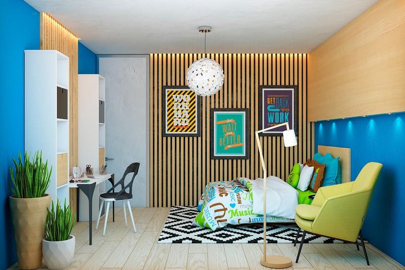Nội thất căn hộ truyền cảm hứng với trần bê tông và sàn gỗ - Ảnh 5