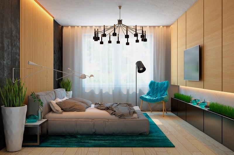 Nội thất căn hộ truyền cảm hứng với trần bê tông và sàn gỗ - Ảnh 6