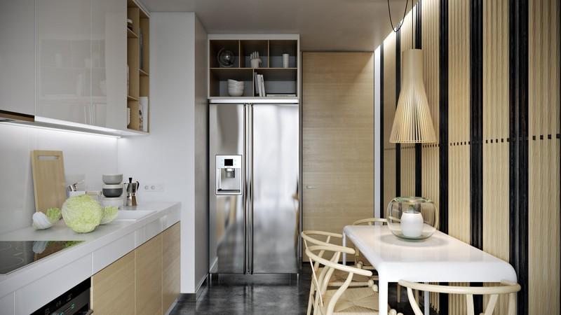 Nội thất căn hộ truyền cảm hứng với trần bê tông và sàn gỗ - Ảnh 7