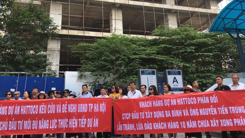 """Qua 1 thập kỷ, dự án Hattoco 110 Trần Phú vẫn chỉ là """"khung bê tông"""" - Ảnh 1"""