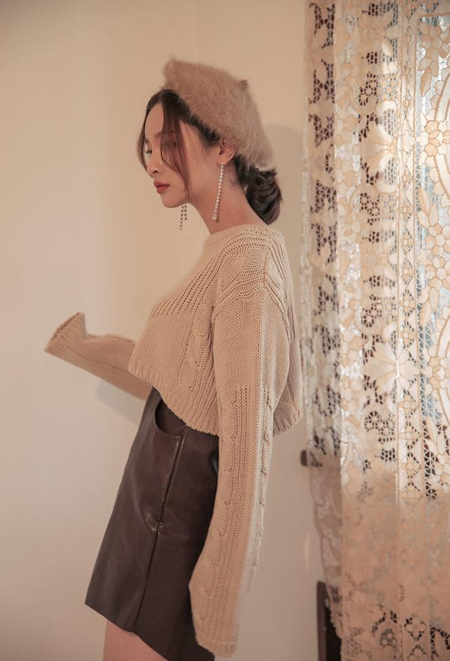 Phối đồ với chân váy da: Gợi ý thời trang Thu - Đông cho các cô nàng sành điệu - Ảnh 13