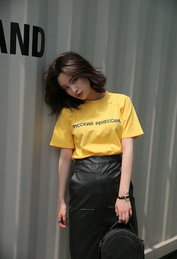 Phối đồ với chân váy da: Gợi ý thời trang Thu - Đông cho các cô nàng sành điệu - Ảnh 3