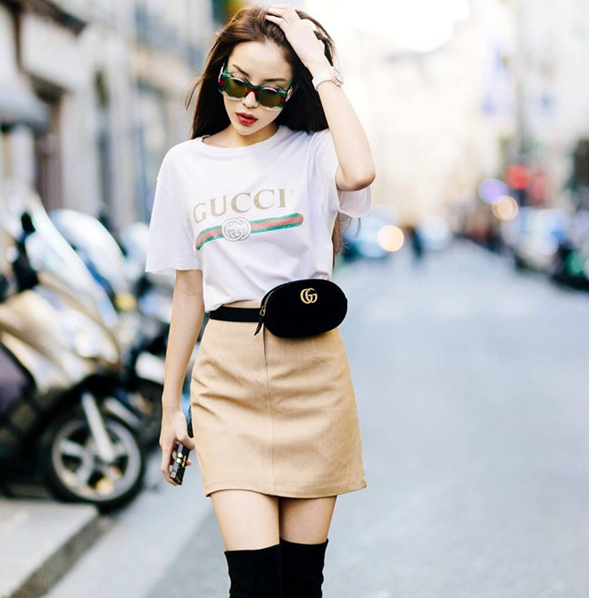 Phối đồ với chân váy da: Gợi ý thời trang Thu - Đông cho các cô nàng sành điệu - Ảnh 4