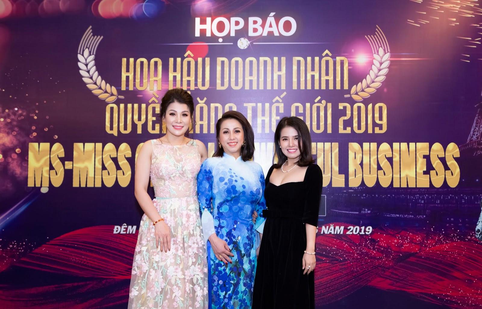 Mới nửa đầu năm 2019 Việt Nam đã có nhiều danh hiệu Hoa hậu 'doanh nhân - quý bà' - Ảnh 3