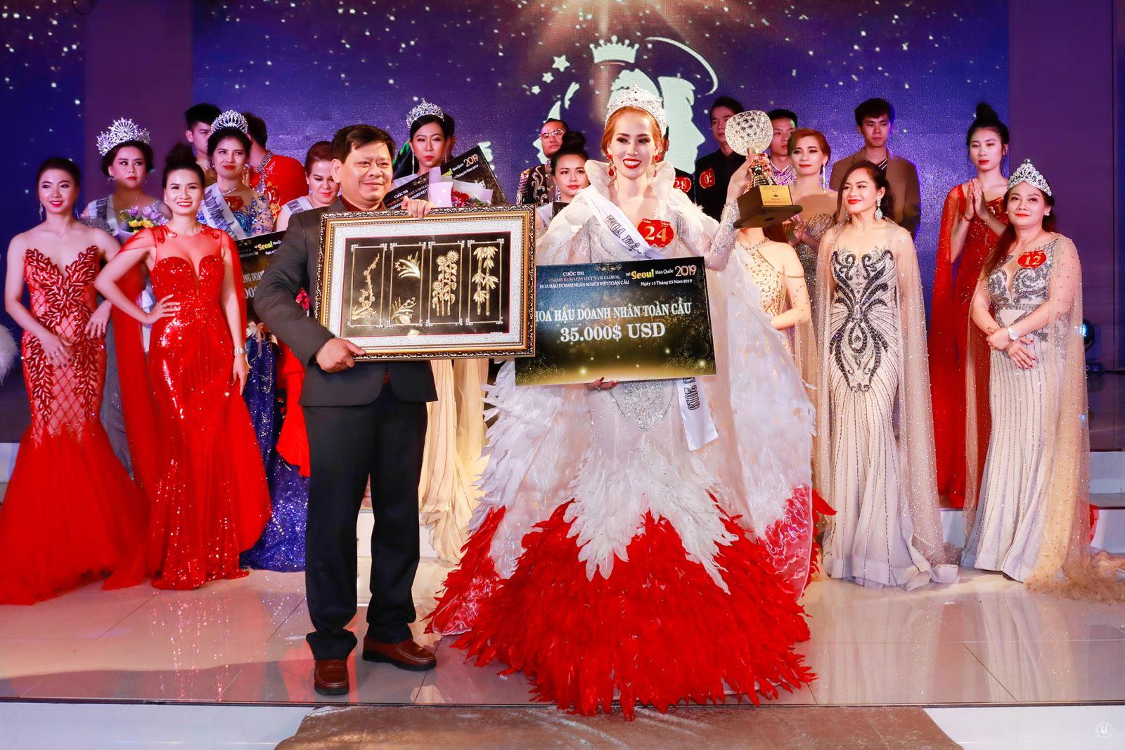 Mới nửa đầu năm 2019 Việt Nam đã có nhiều danh hiệu Hoa hậu 'doanh nhân - quý bà' - Ảnh 6