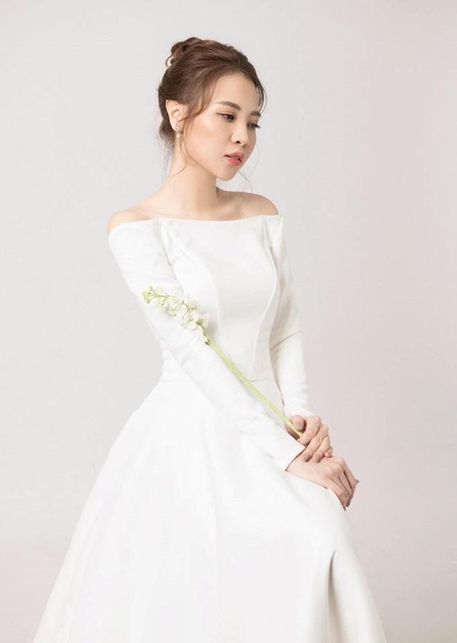 Học cách diện váy cưới đẹp tinh khôi như mỹ nhân Việt nửa năm 2019  - Ảnh 6