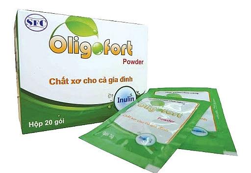 Cẩn trọng với thông tin quảng cáo thực phẩm BVSK Oligofort Powder trên một số website - Ảnh 1