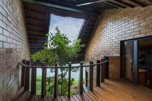 Ngôi nhà mái rạ của đại gia Hà Nội gây 'sốt' trên báo Mỹ vì thiết kế độc lạ - Ảnh 7