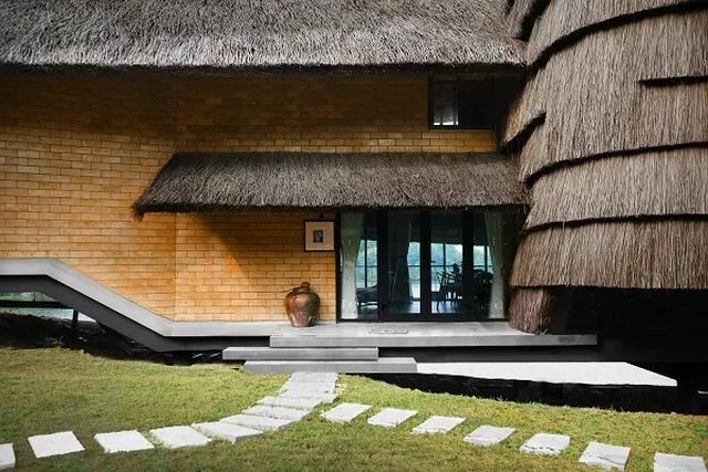Ngôi nhà mái rạ của đại gia Hà Nội gây 'sốt' trên báo Mỹ vì thiết kế độc lạ - Ảnh 8