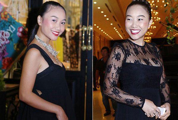 Trang điểm cả tạ phấn, dàn mỹ nhân Việt hoá Hắc Bạch cô nương với màu da lệch lạc - Ảnh 7