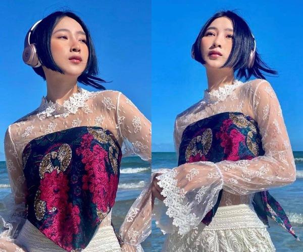 Sở hữu nhan sắc như búp bê Nhật, 9X diện bikini nhỏ xíu khoe eo thon nhìn phát mê - Ảnh 2