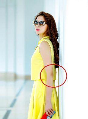 """Những lần Kỳ Duyên photoshop quá đà đến méo cả tường, lệch cả xương mà vẫn """"chứng nào tật nấy"""" - Ảnh 2"""