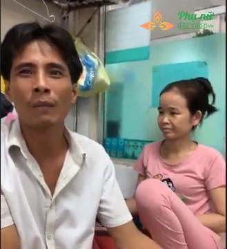 Vợ chồng ông Thuận nghẹn ngào khi tâm sự về bệnh tình của con gái