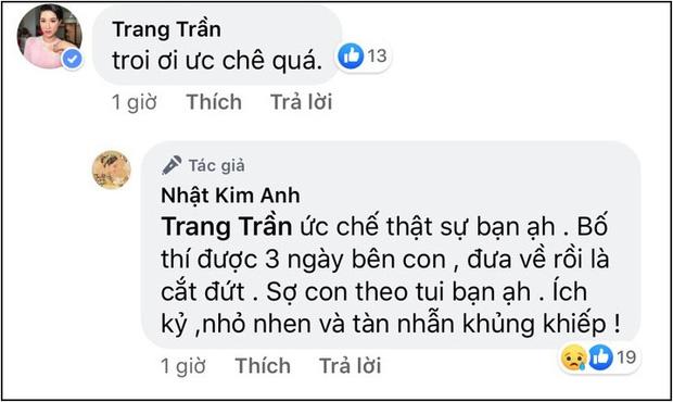 Nhật Kim Anh lại tung bằng chứng chồng phũ phàng không cho gặp mặt con ngày cuối năm - Ảnh 5