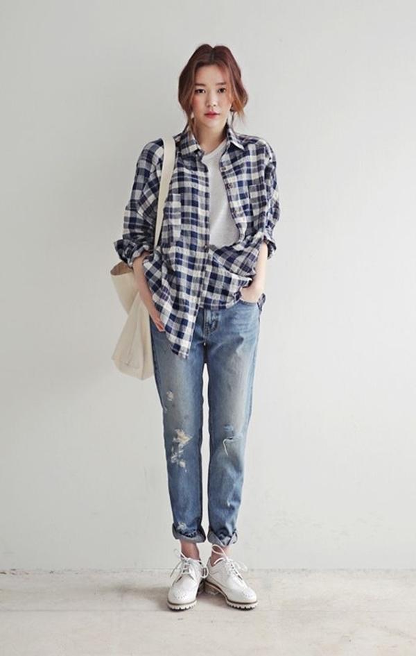 ao so mi quan jeans 1