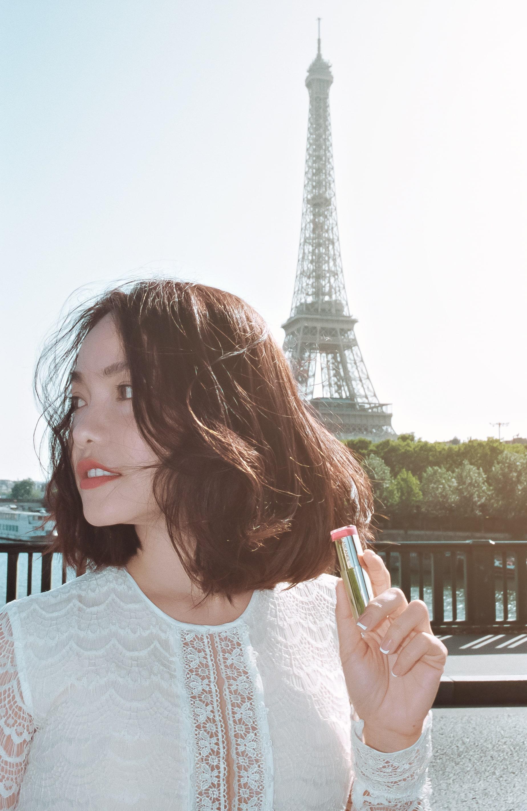 Hồng Kim Hạnh tươi trẻ giữa khoảng trời Paris - Ảnh 6