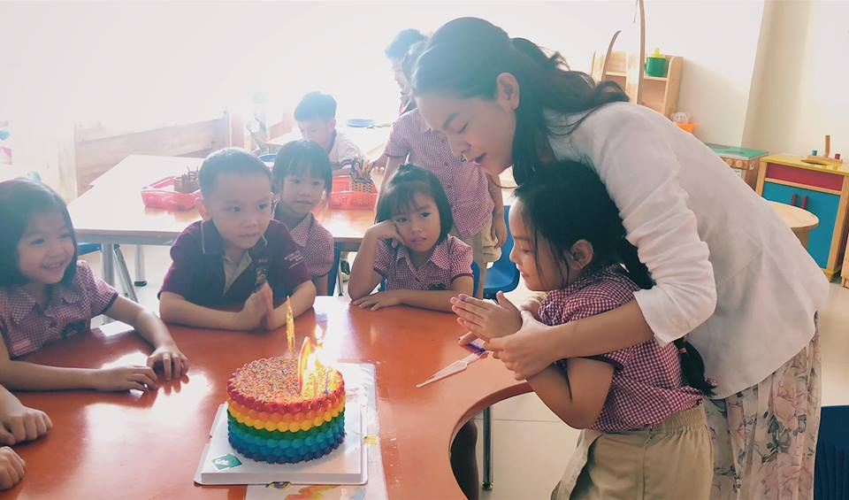 Phạm Quỳnh Anh - Quang Huy 'tái hợp' tổ chức sinh nhật cho con gái - Ảnh 6