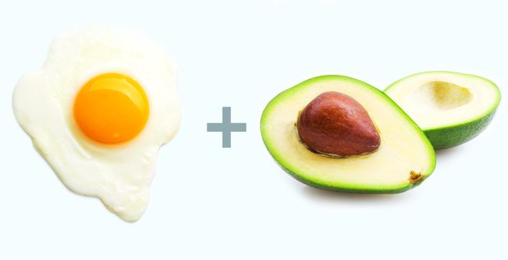 Trứng và bơ cũng là